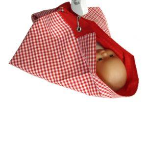 Wiegetuch für Hänge-Babywaage mit Puppe